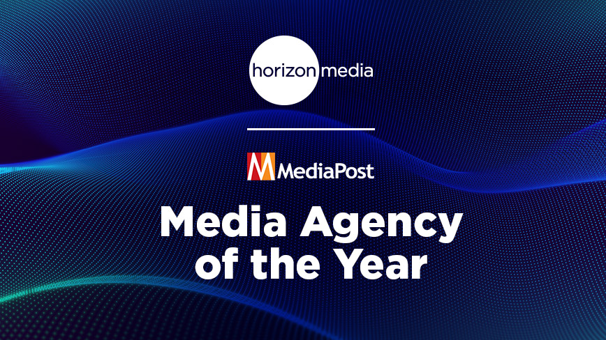 Horizon Media Named Media Agency of the Year by MediaPost
