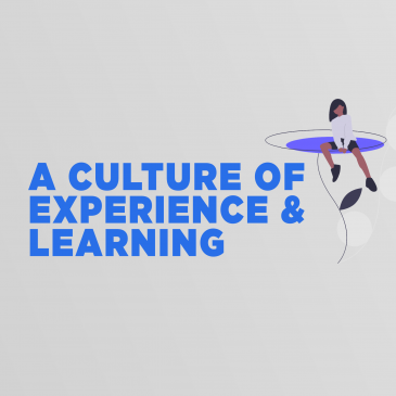 A Culture of Experience & Learning - Donnie Williams